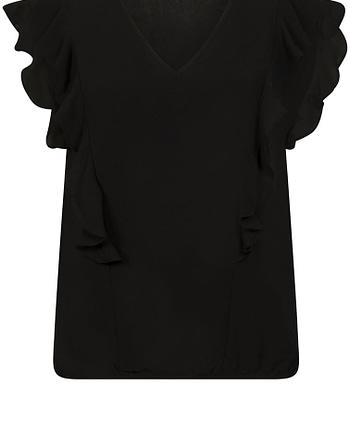 Top-V-Neck-Ruffle-009000-black-4833