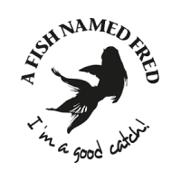 A Fish Named Fred Kleding logo